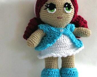 Amigurumi Doll, Crochet Doll, Crocheted toy