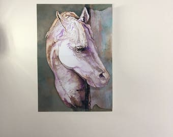 Missing You Horse Pop Up Card