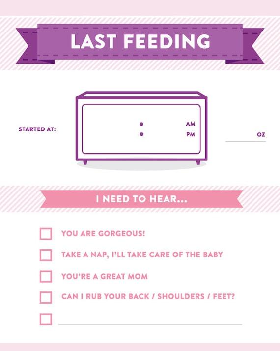 newborn feeding tracker