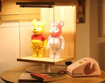 Mood Case DIY LED display case for collectibles figures dolls robots (No figures included)