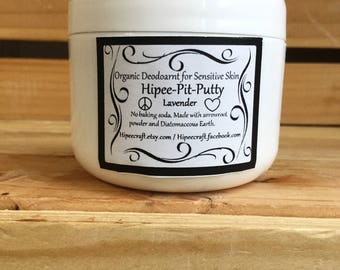 Organic Deodorant Without Baking Soda Natural Deodorant for Sensitive Skin Deodorant No Baking Soda With Diatamaceous Earth