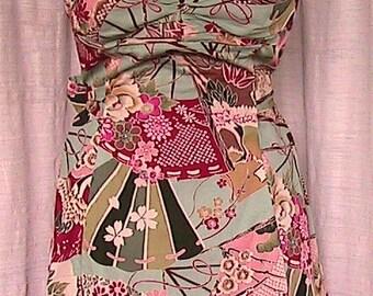 Size 10 Vintage  Steve Madden Sleeveless Sun Dress with bow