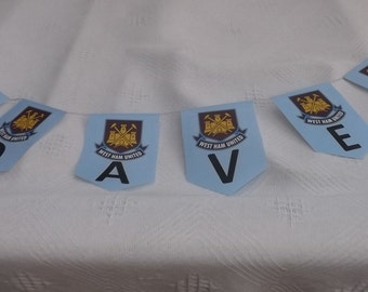 Personalised Banner Garland or Bunting for Birthday - 18th 21st 30th 40th 50th 60th