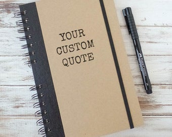 Custom Journal Personalized Bullet Journal Weekly Planner Boyfriend Gift Coworker Gift Notebook Graduation Gift SA2
