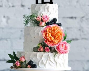 Ahava, Love, Jewish wedding, cake topper, Hebrew letters, Mazel Tov, Jewish event, Acrylic, Chuppah, Jewish design, Anniversary  by isralove
