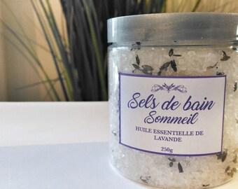 Sels de bain Sommeil, Lavande, Lavender Bath salts