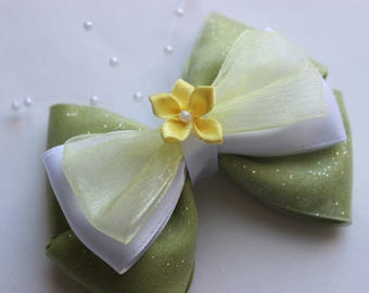REDESIGNED The Frog Princess Tiana Inspired Bow
