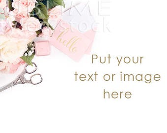 Styled Stock Photography / Styled photo Background / Stock Photos / Etsy Background / Photos for Instagram / Mock Up / Pink / StockStyle-841