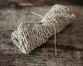 Knitted hemp cloth
