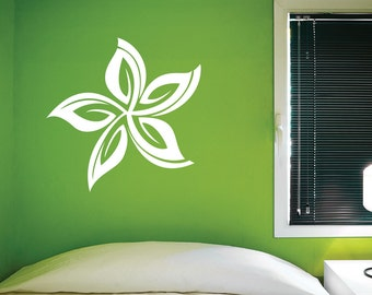 Tropical flower. - 0225- Home Decor - Wall Decor - Tropical - Flower - Flower Shape