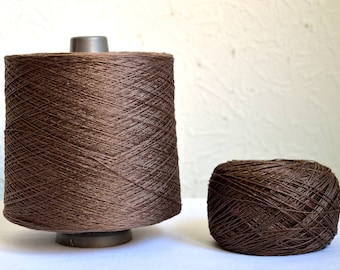 100% natural linen yarns, 100g / 3,5 oz balls