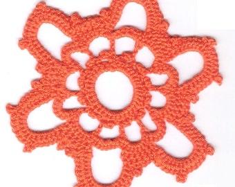 Chakra Lotus Crochet Pattern: Second Chakra
