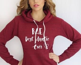 Best Auntie Ever hoodie . Auntie lightweight Hoodie. gift for auntie. Made by ThinkElite1.