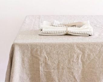 Tablecloth - Cobblestone Hemp and Organic Cotton