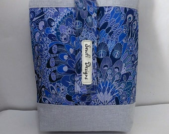 Nappy, diaper travel purse, pouch. Liberty London Eben.