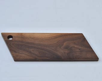 Angled Walnut Cheese Board