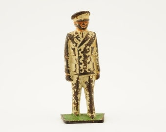 Vintage, antique, barclay, lead soldier, toy soldier, doctor, 1930s