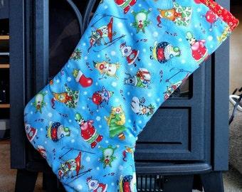 Cat Stocking, Christmas Stocking -- [fun cats] -- CS1003