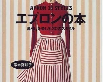 Apron Books - 30 Styles Enjoying Life - Japanese apron pattern book