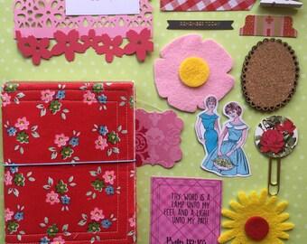 Red Pic-a-nic- Fabric Dori Kit