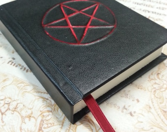 Notebook Grimoire wicca pentacle