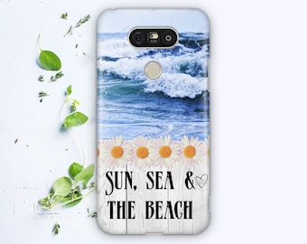 Sun, Sea, and The Beach case for LG G3 G4 G5
