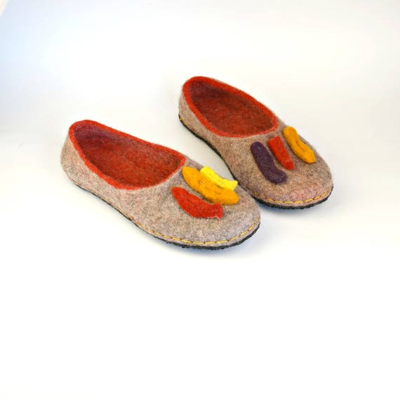 8a17673b25cbf 50%OFF ON SALE women 8 85 grey slippers with soles Natural organic ...