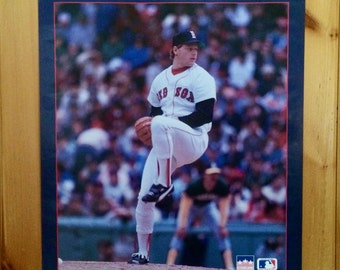 Roger Clemens Boston Red Sox Poster - Roger Clemens - Boston Red Sox - Baseball Poster - Bosotn Red Sox Souvenir