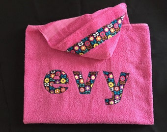Personalized Hooded Towel