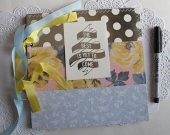Instax wedding guest book Love scrapbook mini album - Instax birdal shower photo guest book