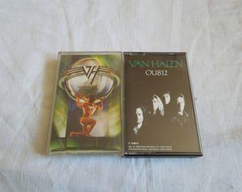 80s/90s Van Halen Cassette Tape Lot