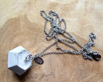 Chain Diamond Diamond concrete concrete jewelry pur