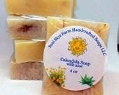 Calendula Soap with aloe ...
