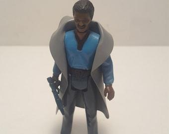 Clean Lando Calrissian Star Wars action figure 1980