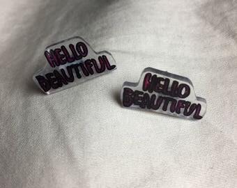 Hello Beautiful! Earrings