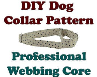 DIY Martingale Tutorial Instructions Adjustable Dog Collar Pattern