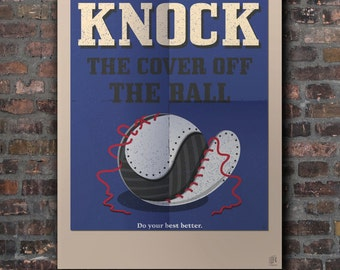 Knock the cover off the ball