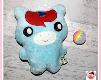 Light Blue Plush Unicorn