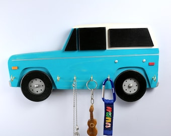 Early Ford Bronco or Jeep inspired, 1966-1977 key rack