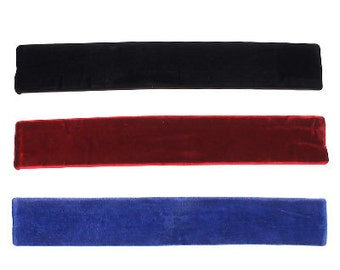 Black, Burgundy & Blue Choker Set