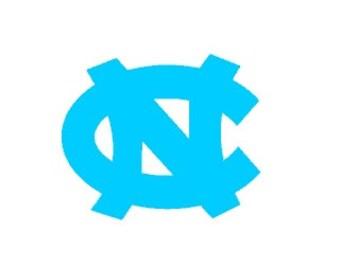 UNC Chapel Hill Decal | Tar Heel Decal | Carolina Decal | North Carolina Decal | UNC Decal | UNC Yeti Decal