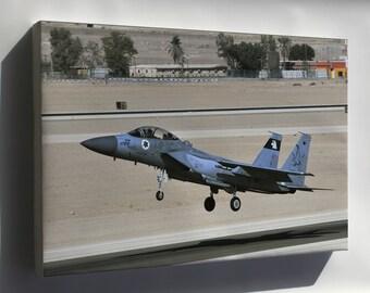 Canvas 24x36; Israel Air Force F 15I Squadron 133
