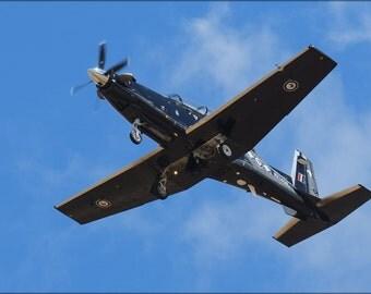 16x24 Poster; Beechcraft T-6 Texan Ii Overhead