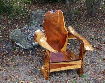 Handcrafted Cedar Chair