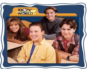 Boy Meets World Custom Image T*shirt