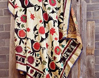 New! Red & Black handmade suzani