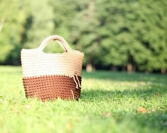 Rope bag, Crochet grocery tote, Diaper bag, Crochet handbag, Crochet shopping bag, Market basket, Beach tote, Summer bag, Beach bag, tote
