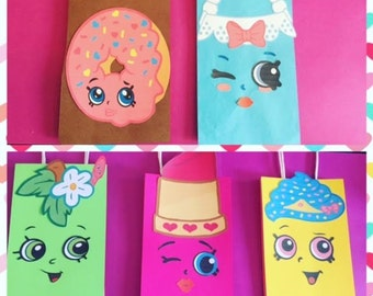 Shopkins Favor Bags