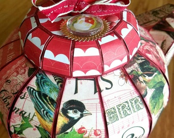 Christmas Teapot Gift Box