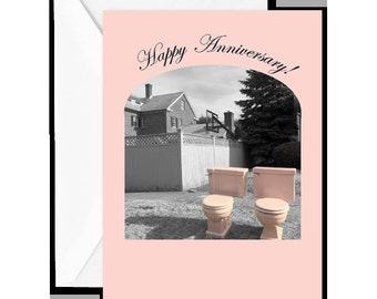 "Greeting Card: ""Happy Anniversary! Still having fun doing everything together! Happy Anniversary!"""